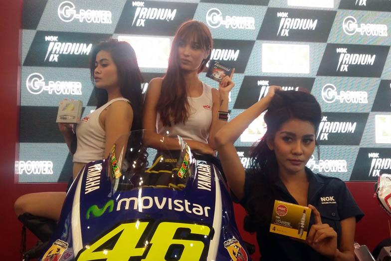 NGK Racing Bisa Di Miliki September 2017