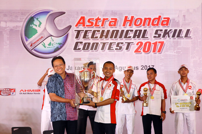 ASTRA HONDA TECHNICAL SKILL CONTEST 2017