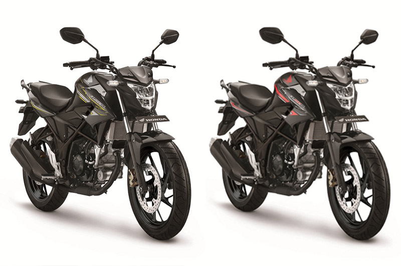 Warna Stallion Black New Honda CB150R StreetFire SE