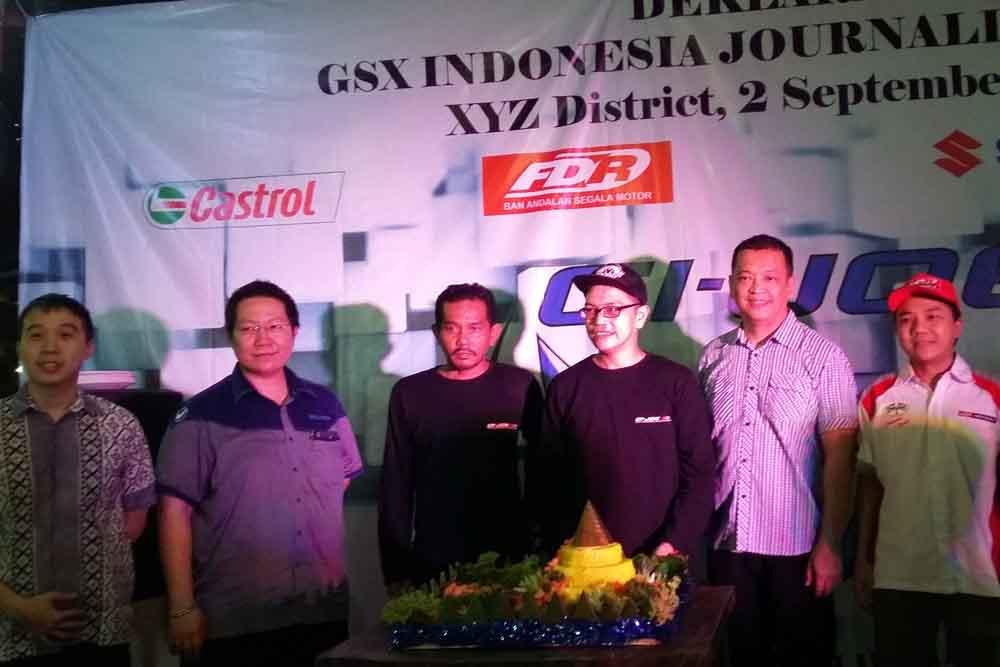 GSX Indonesia Jurnalis Owner Resmi Terbentuk
