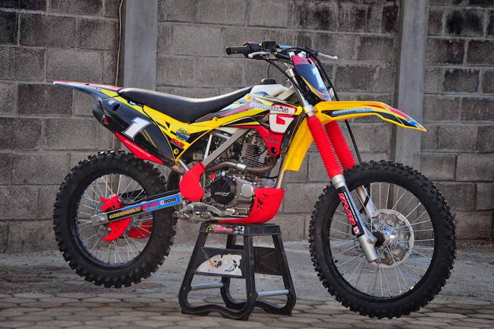 FRESH ROOKIE….KLX FULL GORDON'S CONCEPT