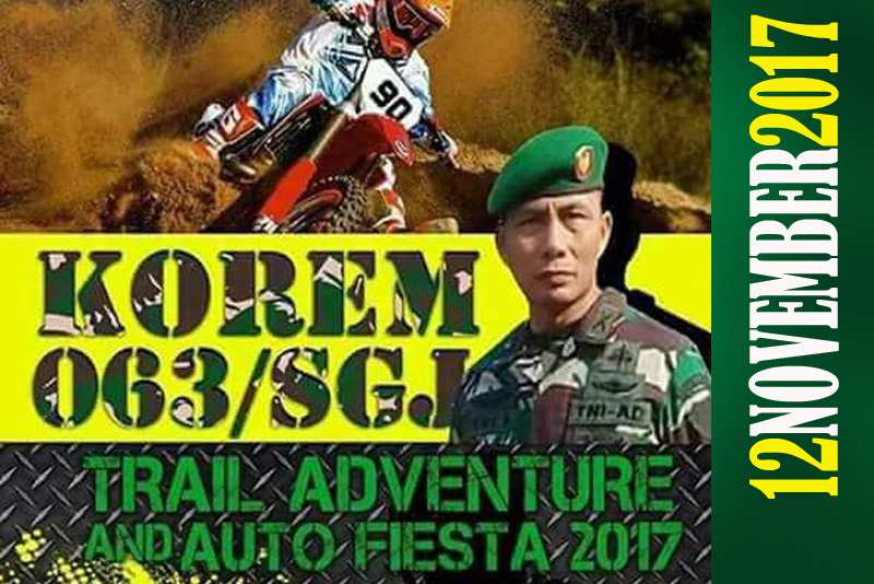 Jelang Trail Adventure And Auto Fiesta 2017