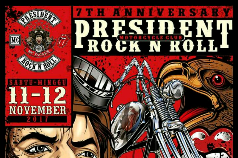 7 th Anniversary President Rock N Roll Motorcycle Club