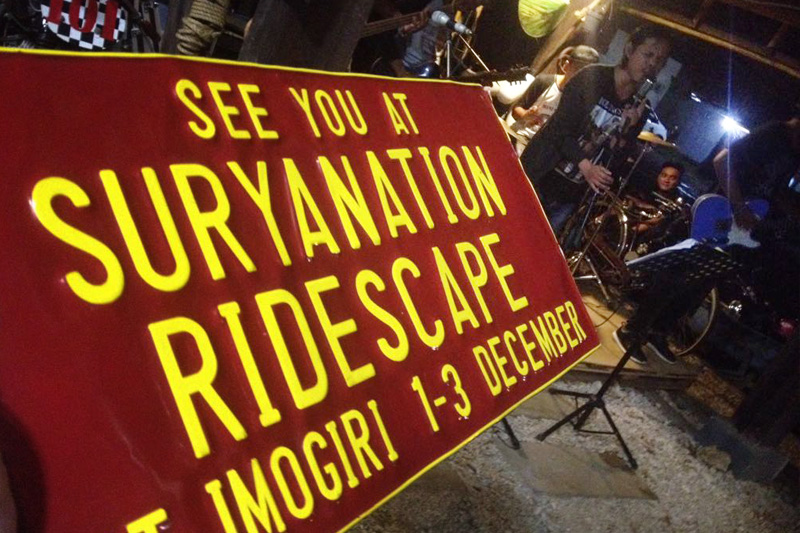 """SOSIALISASI SURYANATION RIDESCAPE 2017 #Day 3 """"LAND OF THE RIDERS"""" LAMPUNG"""