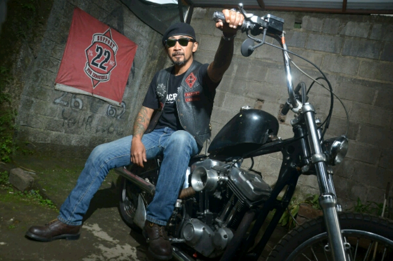 Profil Pegi Diar, El Presidente Bikers Brotherhood Indonesia