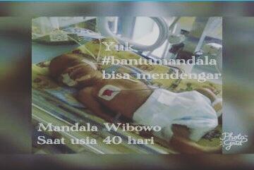 Donasi untuk Mandala Wibowo