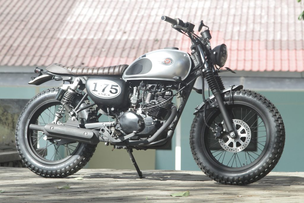 KAWASAKI W175 'AJAT CUSTOM99' BUKTI MODIFIABLE TANPA RIBET By Isfandiari MD