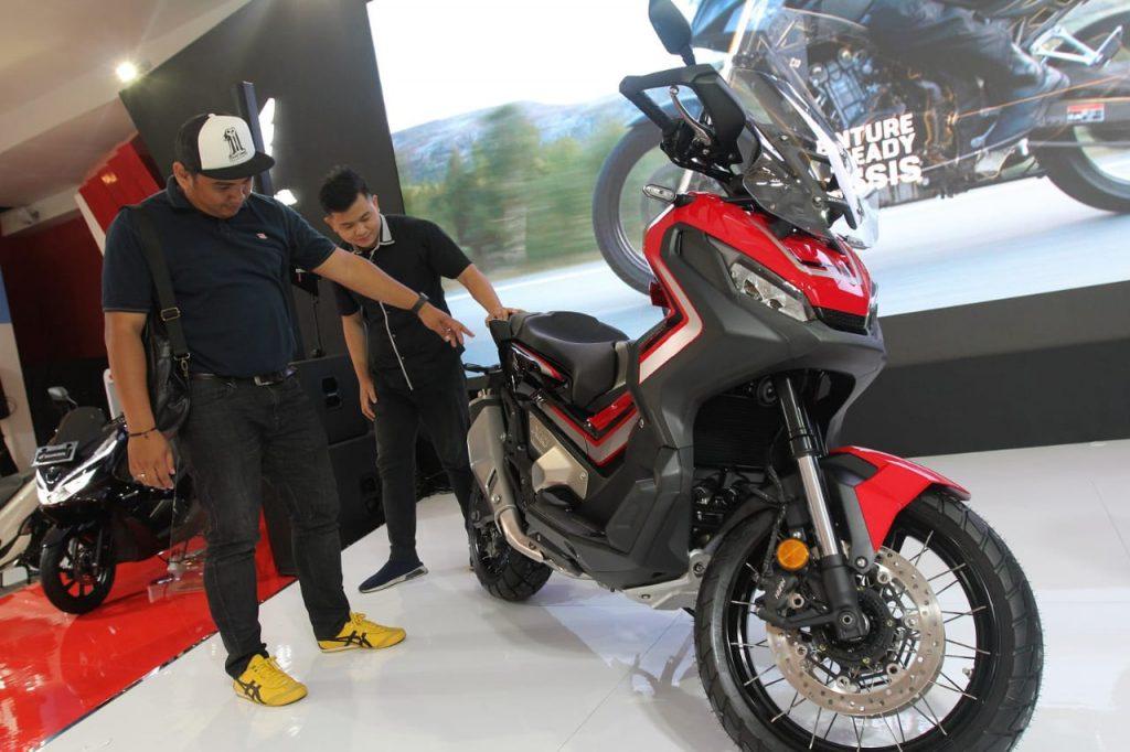 honda x-adv, Indonesia International Motor Show