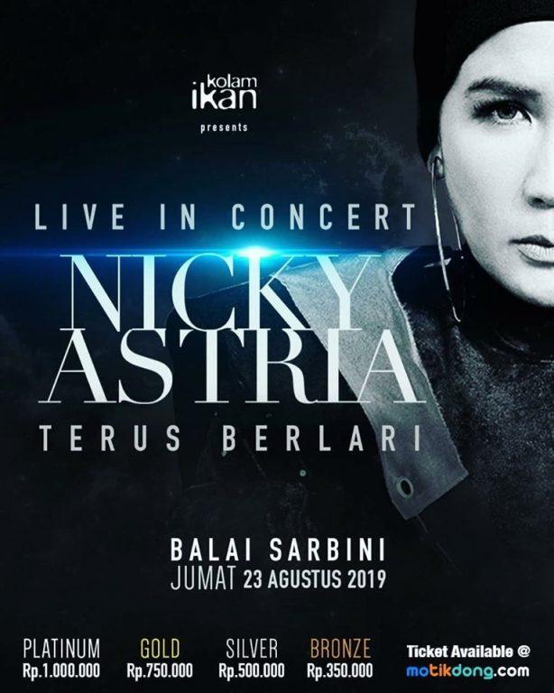 NICKY ASTRIA LIVE PERFORMANCE : LADY ROCKER KEBANGGAAN INDONESIA..BAKAL MANGGUNG LAGI. JANGAN SAMPAI LEWAT LO…