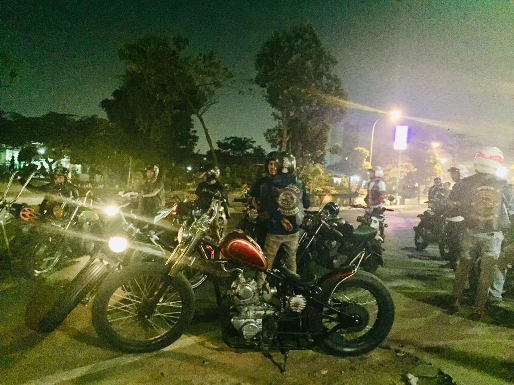 IKUTAN HANG OUT BARENGAN ALL BIKERS TANGERANG CUSTOM CULTURE 27 JULI 2019 IKUT ASKUSTIKAN..CHARITY…HANG OUT..ROLLING CITY LENGKAP DAH! By Isfandiari MD