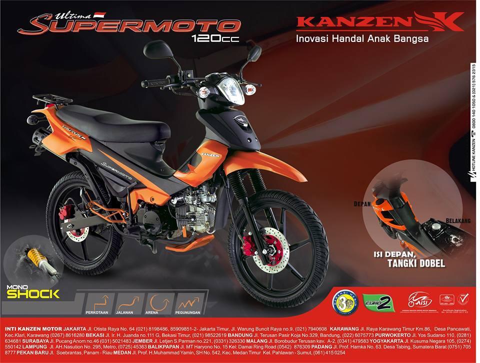 Kanzen Ultimate Supermoto 120cc