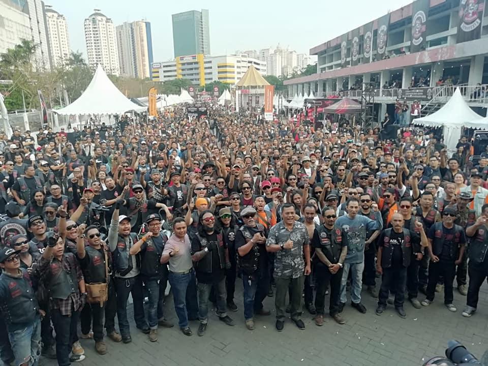Anniversary ke-31 Bikers Brotherhood 1 % MC -Still Kickin' & rock n' roll MUNGKIN HERGE-PUN TAK AKAN MENYANGKA….By Isfandiari MD