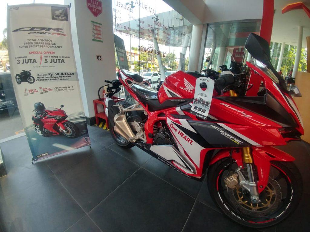 Bagi Pecinta Honda CBR250RR Di Jawa Timur, MPM Berikan Diskon Dan Potongan Harga Hingga Jutaan