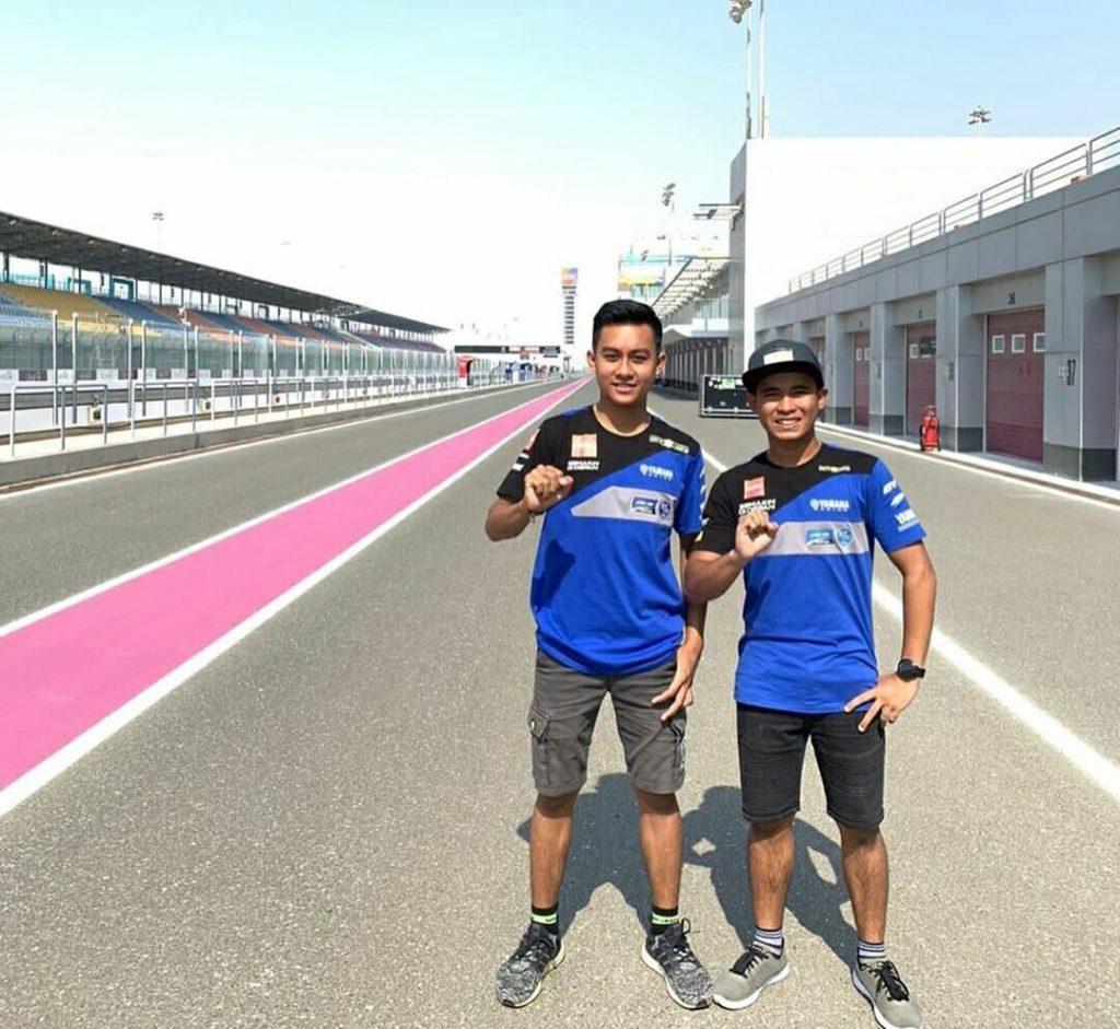 Dua Pembalap Muda Indonesia Siap Beraksi di Putaran Final Kejuaraan Balap Dunia