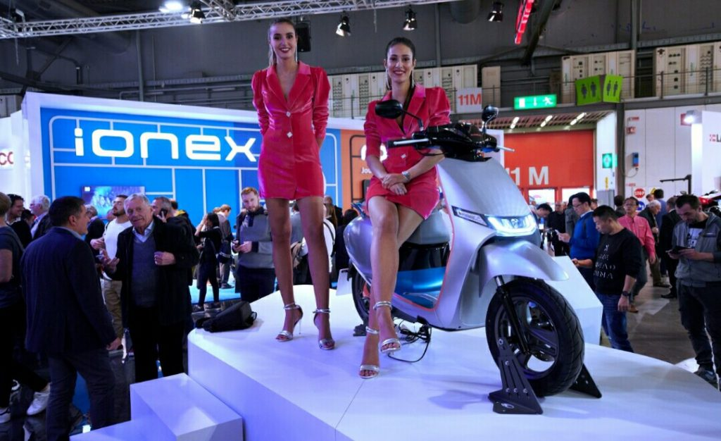 Kymco i-One, Smart Scooter yang Mejeng di EICMA 2019