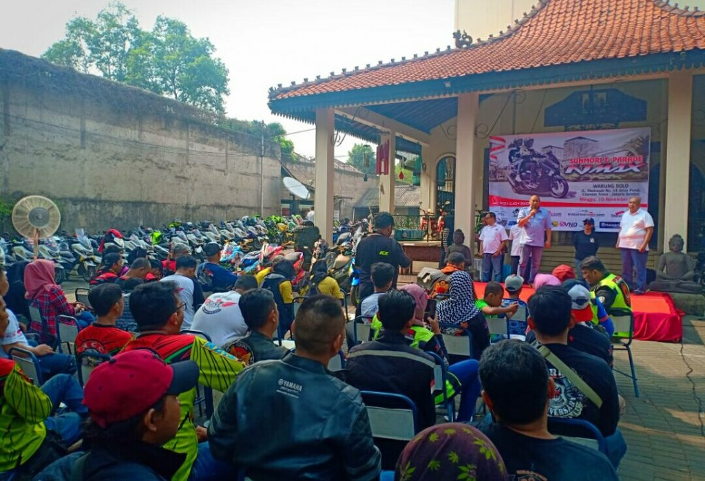Ratusan Bikers Geruduk NMax Riders Gathering By Hel20