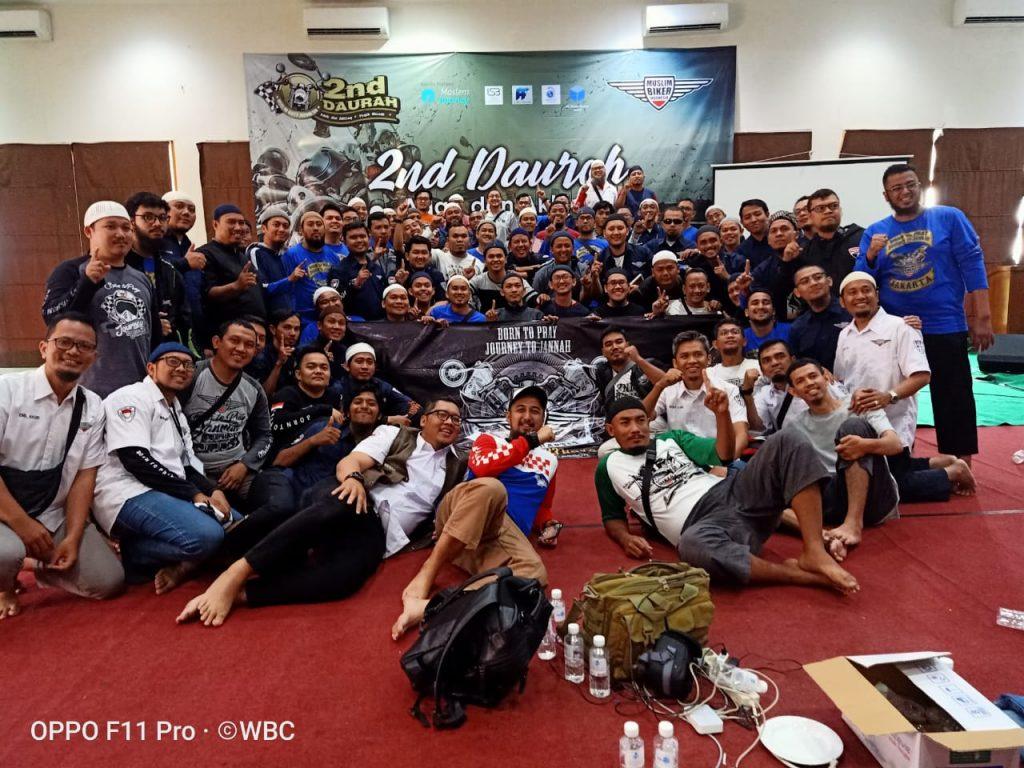 Mendalami Adab dan Akhlak Bikers di Dauroh Kedua Muslim Bikers Indonesia By Denny Koi