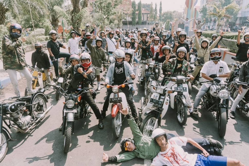 Sunmori majapahit #4 UPS..FREESTYLE…STUNT RIDE ON STREET, HATI-HATI BRO! by Lutfi Hermansyah