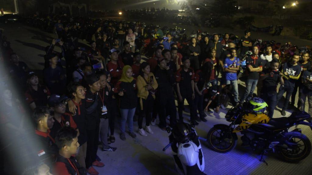 GSX Community Cikarang Kampanyekan Keselamatan Berkendara Dalam 2nd Anniversary nya By Andy Qiting