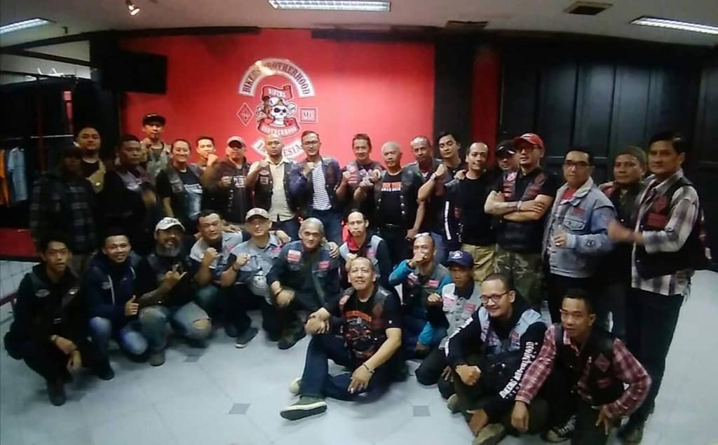 Moment Historikal  Silaturahmi MMC Outsiders Indonesia dan Bikers Brotherhood MC BERSAUDARA SEJAK 31 TAHUN YANG LALU by Isfandiari Md