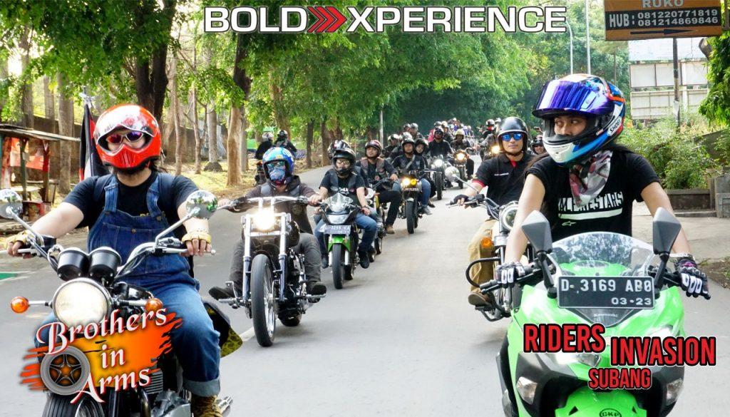 Brothers In Arms -Riders Invasion Session 3-Subang PREDIKSI TERUS MEMBESAR RUPANYA TERBUKTI By Isfandiari MD Foto:Deddy Uban