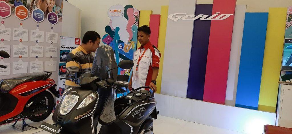 Honda Genio Skutik dibekali generasi terbaru mesin eSP 110cc