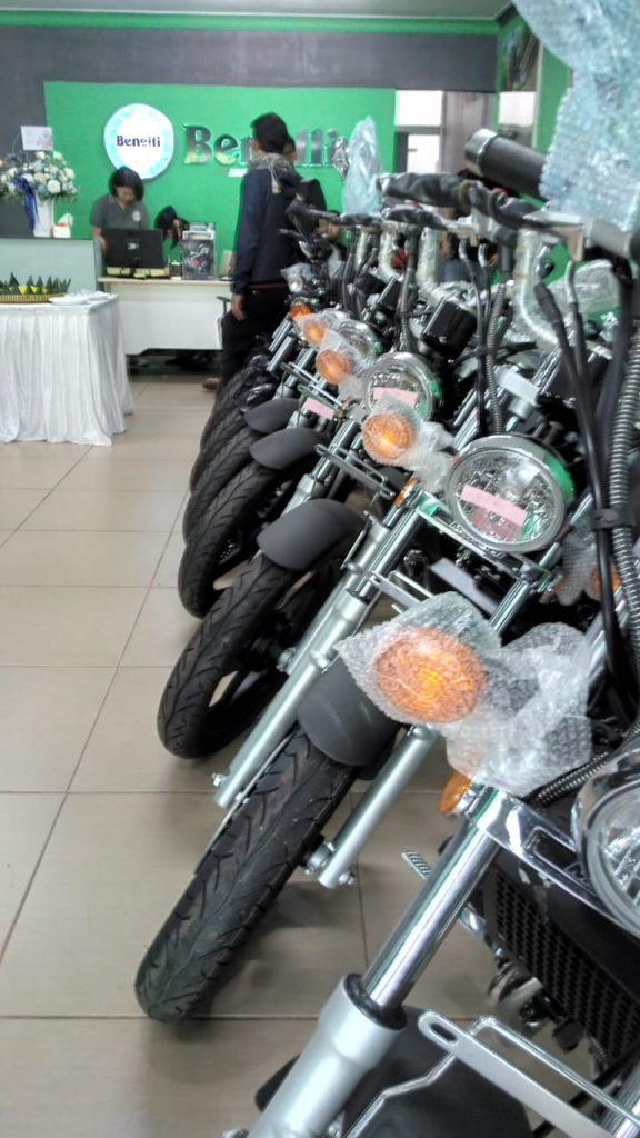 CONGRATZ!BENELLI MOTOR INDONESIA HADIR DI CAWANG BY Rambing