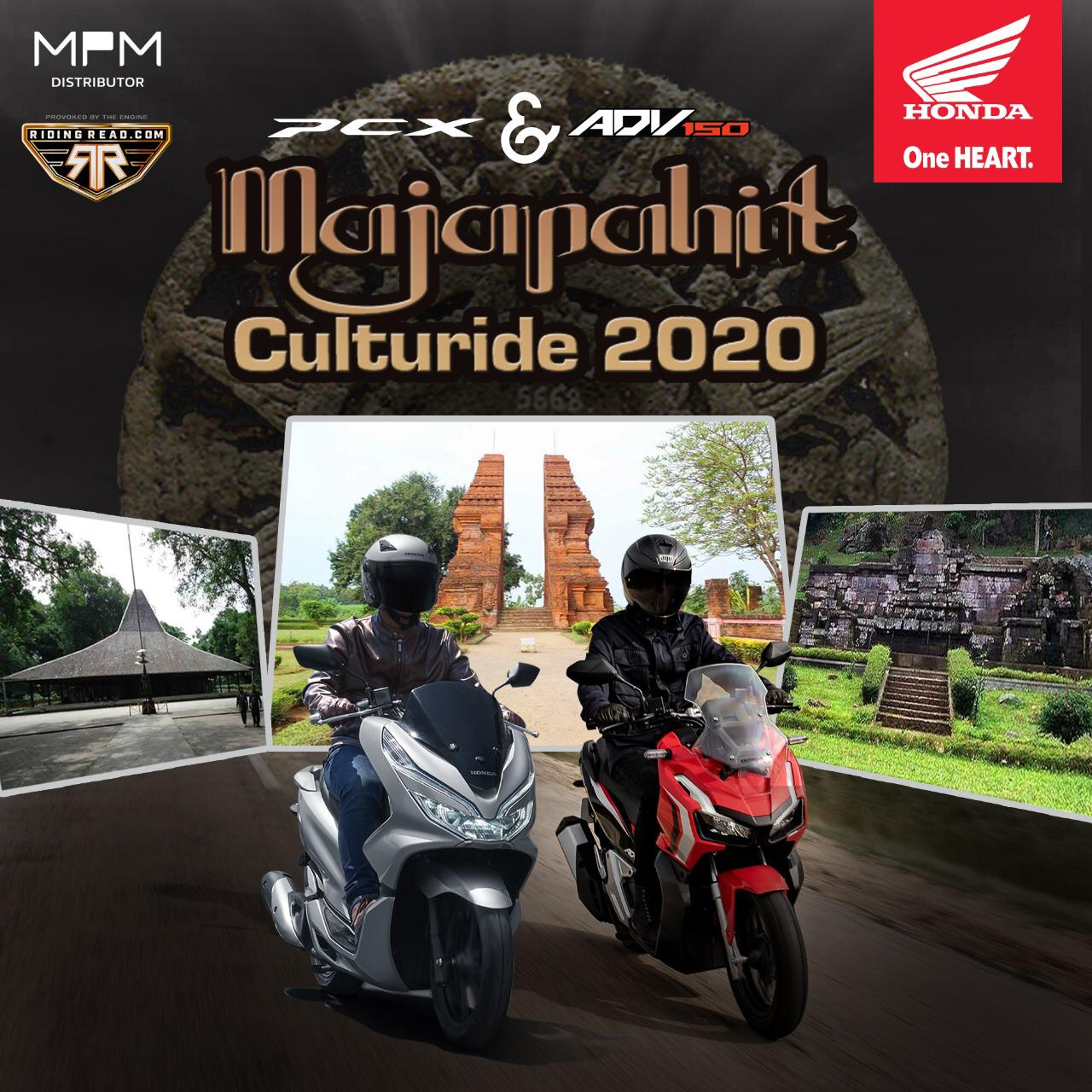 Honda ADV150-PCX  Majapahit Culturide 2020 PART 1…NIKMATI  ROMANTISME ALAM JAWA TIMUR DAN SITUS PENINGGALAN KERAJAAN MAJAPAHIT By Isfandiari Md