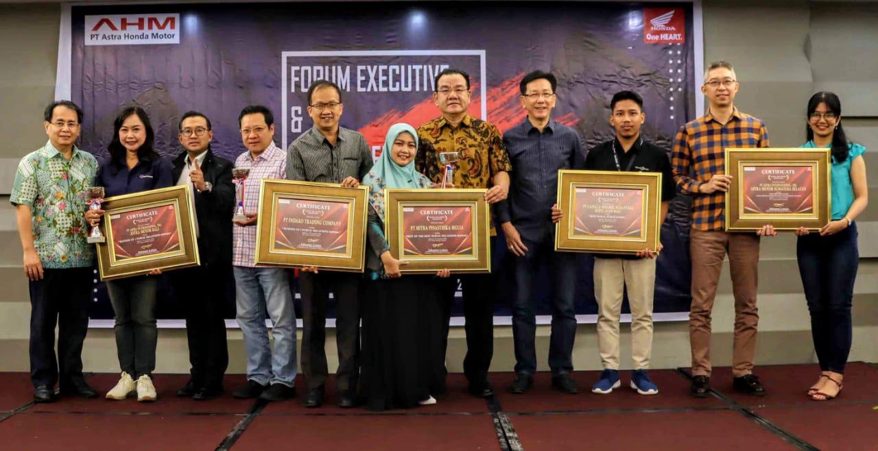 MPM Raih Best Of The Best Public Relation Honda Award 2019.