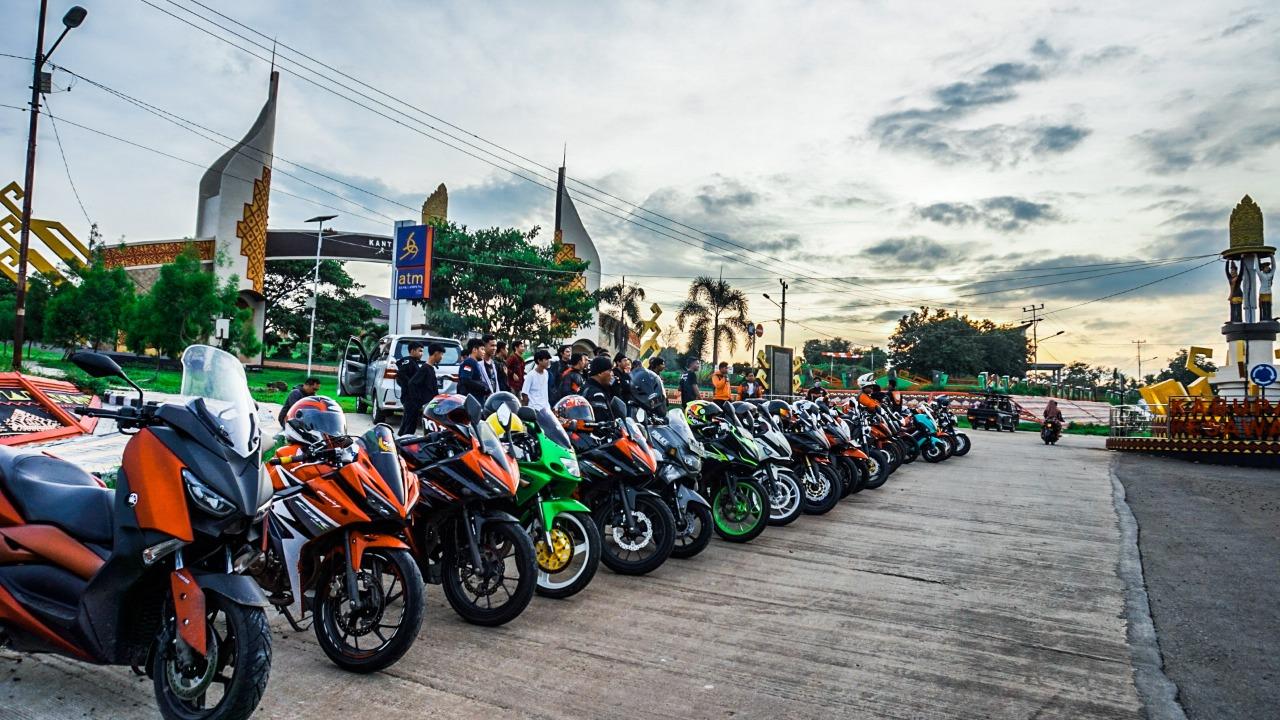 Komunitas Yang Tergabung dalam Bold Riders Nikmati Keseruan Campride By Andy Qiting