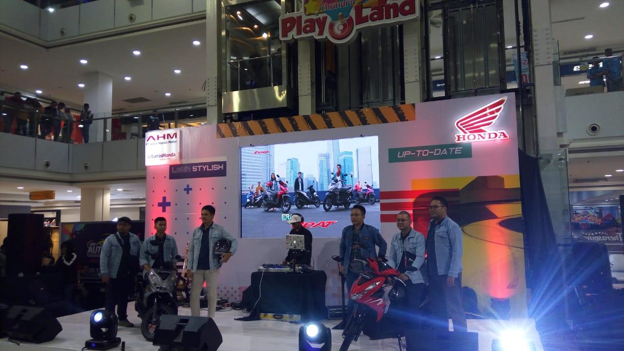 Resmi Honda All New Beat dan All New Beat Street Mengaspal di Lampung.  By Andy Qiting
