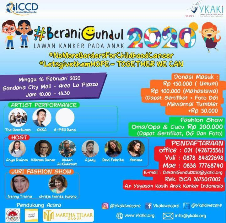 Yayasan Kasih Anak Kanker Indonesia (YKAKI) RIUNGAN KEPEDULIAN YANG JADI MAGNET KOMUNITAS By Isfandiari MD
