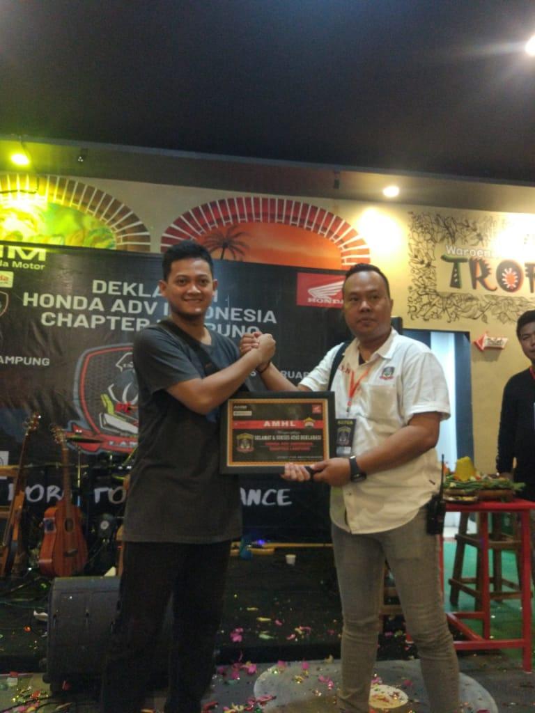 Honda ADV Indonesia Chapter Lampung Resmi Berdiri, Born To Be Advance. By Andy Qiting