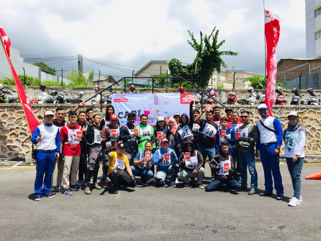 Asosiasi Motor Honda Lampung Bersama TDM Adakan Seleksi Regional Safety Riding Community. By Andy Qiting