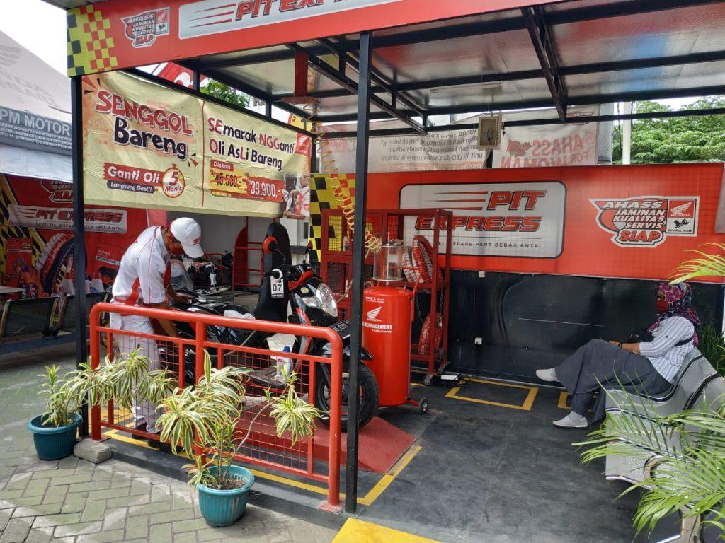 669 AHASS di Jawa Timur Siap Layani Ganti Oli Asli Serentak.