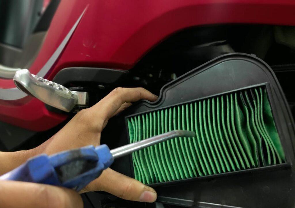 Cara Membersihkan Filter Udara Sepeda Motor dengan Benar By Daya Adicipta Motora