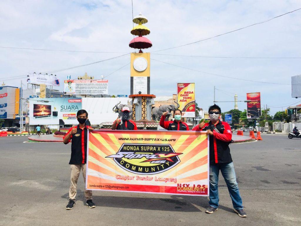 Peduli Kondisi Saat ini, HSX125Community Bandar Lampung Bagikan Masker  by Andy Qiting