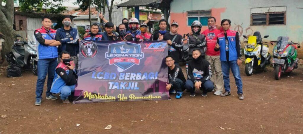 Yamaha Lexi Community Indonesia Serentak Berbagi di Berbagai Daerah By Andy Qiting
