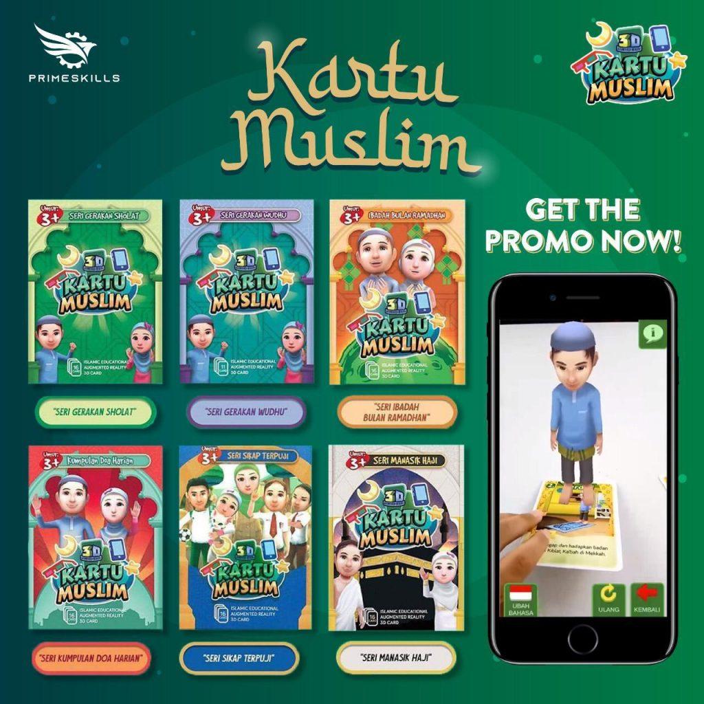 Kartu Muslim yang mengaplikasikan Augmented Reality