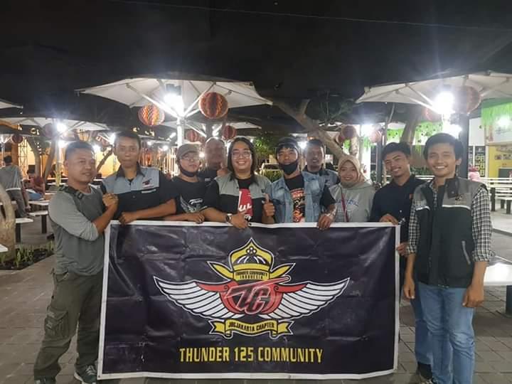 Suzuki Thunder Indonesia chapter Yogyakarta