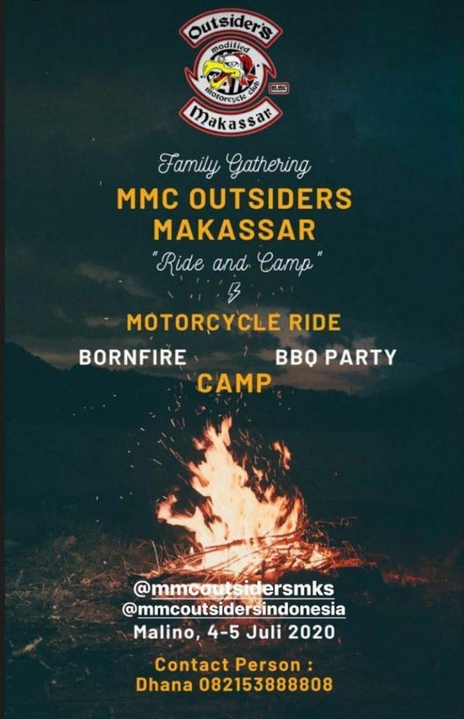 Family Gathering MMC Outsiders Makassar