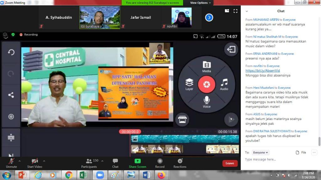 MPM Honda Jatim Ajak 1000 Guru Ikuti Kelas Online Pembuatan Video Pembelajaran.