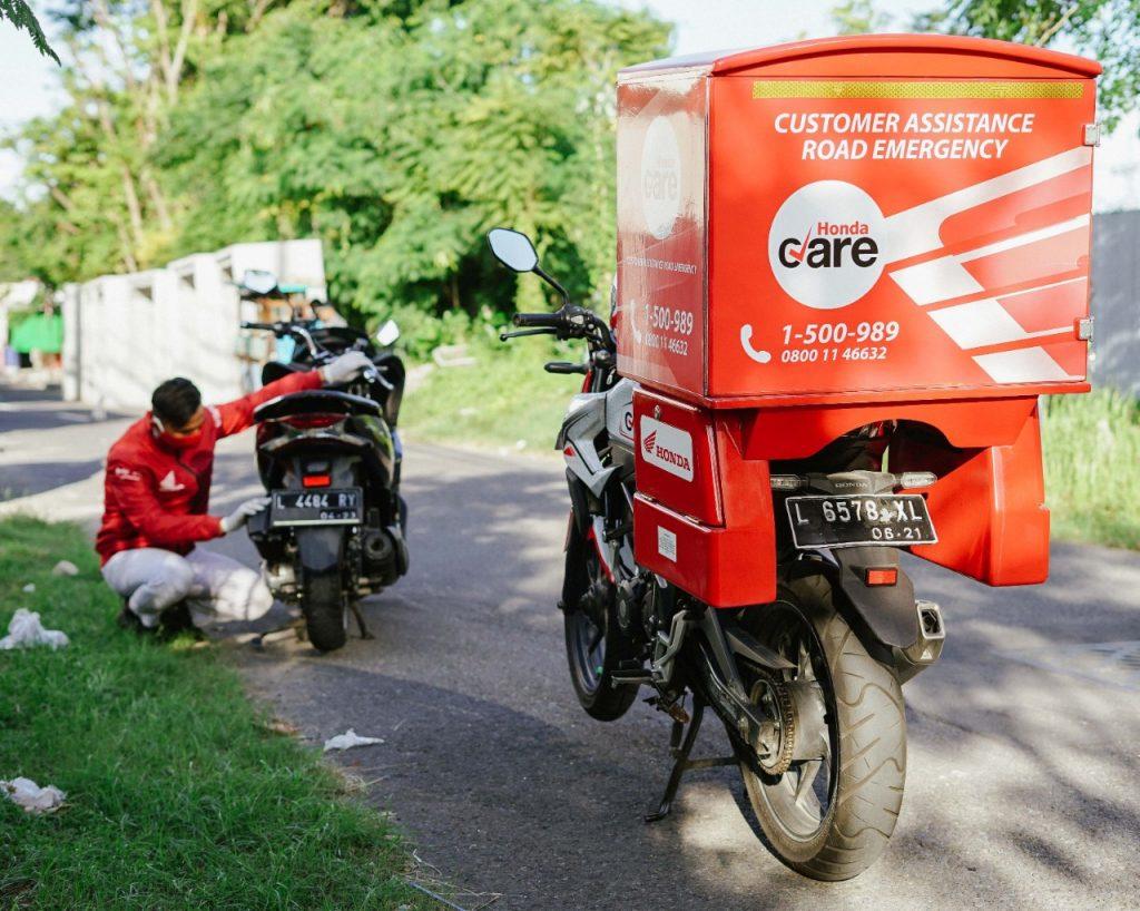 MPM Honda Jatim Siapkan 24 Motor Untuk Layanan Honda Care