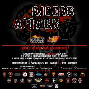 Brothers In Arms Road to Riders Attack Bakti Sosial