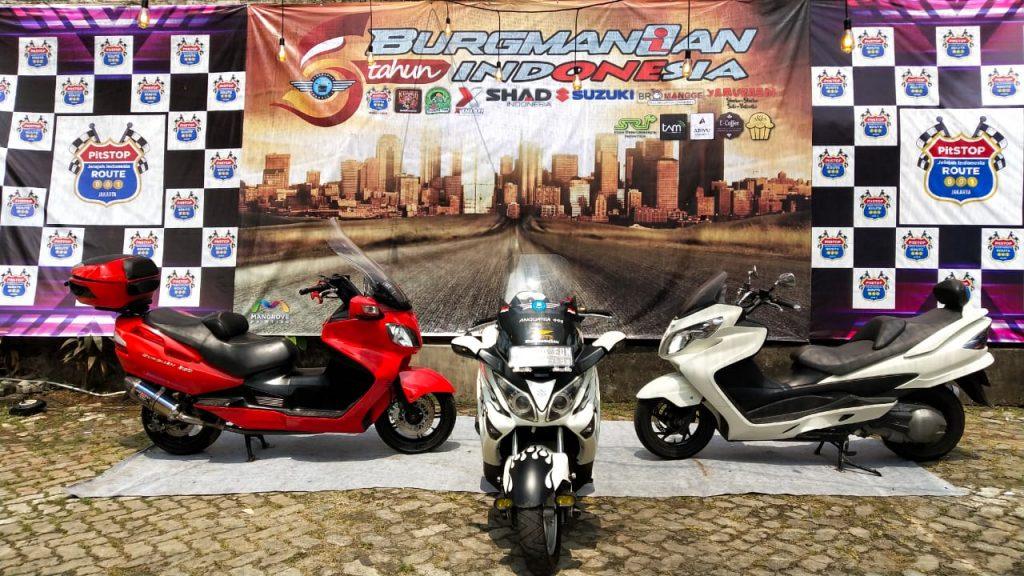 Suzuki Burgman series Community Indonesia