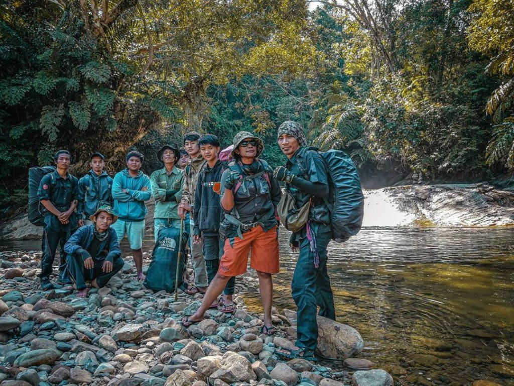 Jelajah Riam Pungson Muara Komam Paser Kalimantan Timur