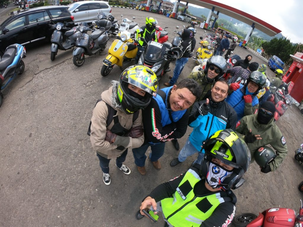 General Team Vespa Society Indonesia Riding Kemerdekaan