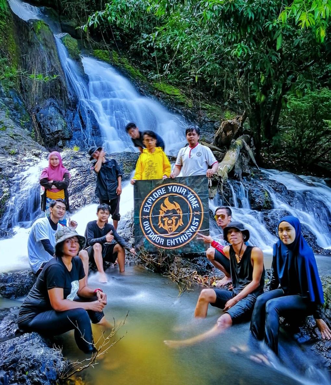 Catatan Perjalanan RR ke Air Terjun Sondong Kalimantan Timur