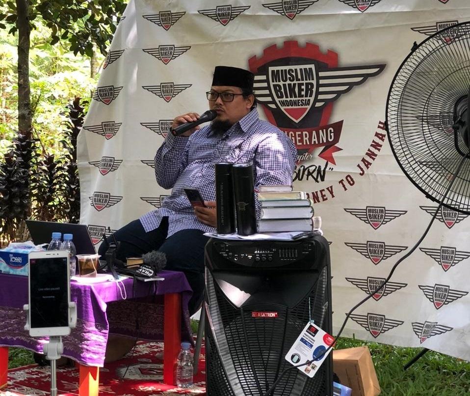 Muslim Biker Indonesia Chapter Tangerang (MBICT) Kembali Gelar Kajian Alam by Denny Koi