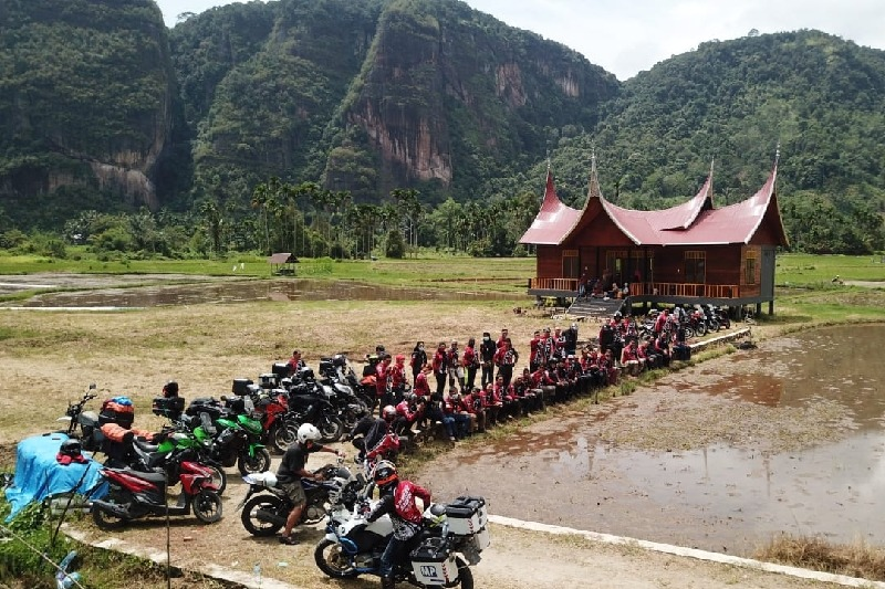 Kumpul Ontahood Moto Adventure Bukittinggi 2020